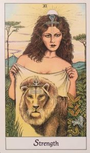 tarot lion