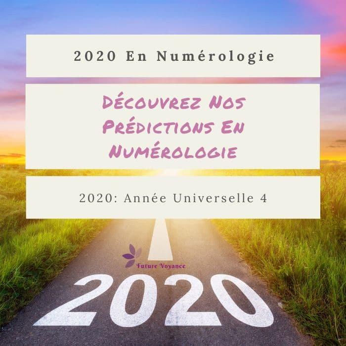 année personnelle 2020 calcul