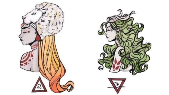 lion capricorne